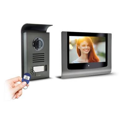Visiophone couleur LEVO Access avec contrôle d'accès RFID intégré - 720289 - Extel