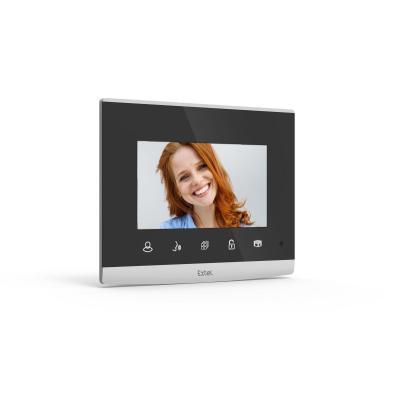 Ecran interphone extel compact allumé