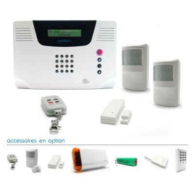 Kit alarme Avidsen sans fil multi-zones - 100740 - Avidsen