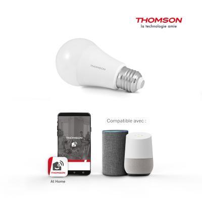 Ampoule connectée compatible Alexa et Google Home