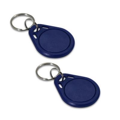 Badge d'accès bleu - Lot de 2