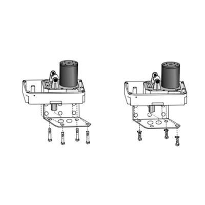Bloc moteur droit / gauche seul BORA Fixation sur équerres - 861406 - Extel