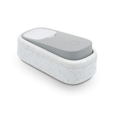 Bouton d'appel d'une sonnette sans fil et sans pile