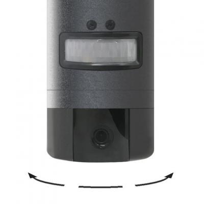 La camera lampe thomson s'oriente de droite à gauche