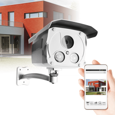 Caméra IP fixe Wifi 720p - Usage extérieur - Thomson - 512391