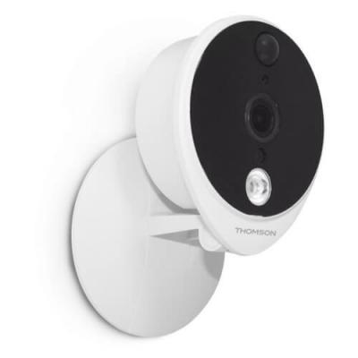 Caméra IP WiFi 1080p Couleur - HD - Usage intérieur Installation - 512376 - Thomson