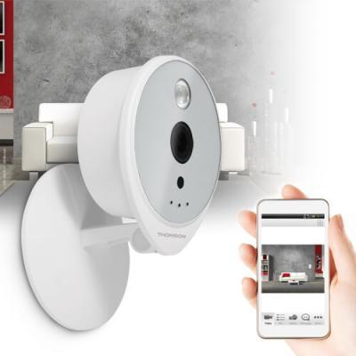 Caméra intérieure IP Wifi HD 720P utilisation - 512375 - Thomson