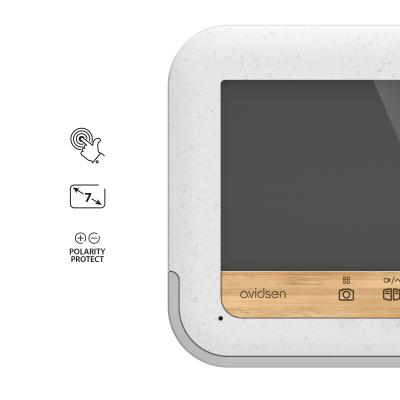 Caractéristique de l'écran de l'interphone vidéo bamboo