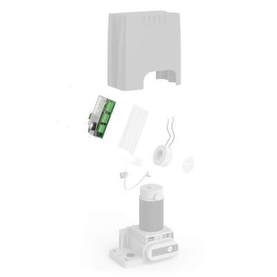 Carte électronique de rechange pour motorisation de portail coulissant - 580038B