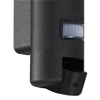 Détail de la caméra lampe thomson avec son détecteur de mouvement