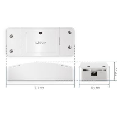 Dimenssion du kit connecté homeGate