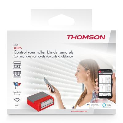 Vue de face du carton Thomson Access