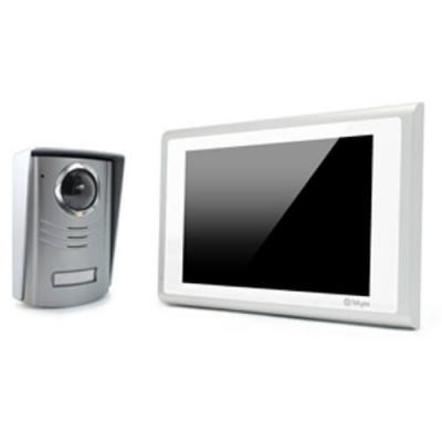 Interphone Vidéo couleur - Liaison 2 fils - À mémoire d'images