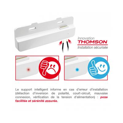Interphone Vidéo Couleur SMART 761 support moniteur - 512261 - Thomson