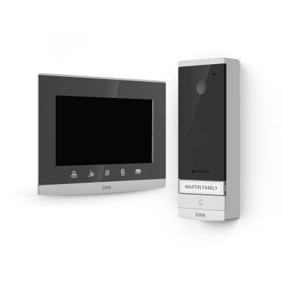 Ecran et platine de rue de l'interphone vidéo Extel Wave