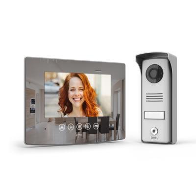 Kit visiophone Extel glass : écran + platine de rue