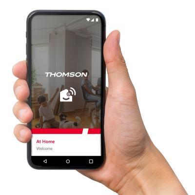 application thomson at-home sur un téléphone