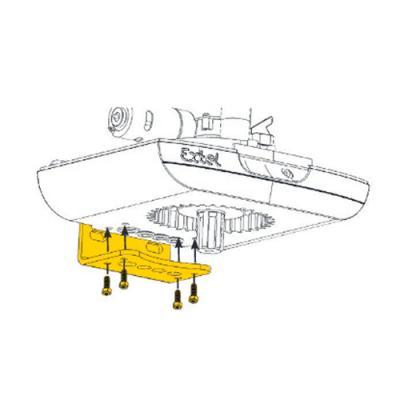 Moteur pour motorisation BORNEO fixation Equerres - 863406 - Extel