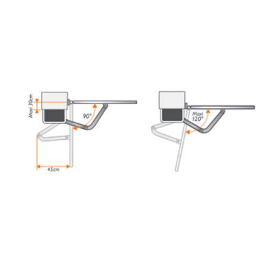 extel hello b motorisation bras articul s pour portail vantaux maisonic. Black Bedroom Furniture Sets. Home Design Ideas