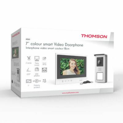 Packaging, boite du visiophone Thomson Smart Braket 2