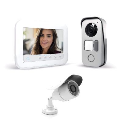 Visiophone Ylva 3+ – Avidsen avec accès RFID et vision nocturne + caméra