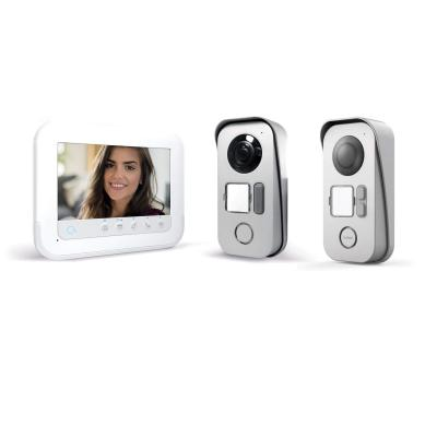 Visiophone Ylva 3+ – Avidsen avec accès RFID et vision nocturne + platine de rue 2 logements