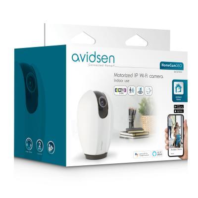 Carton packaging de la caméra IP motorisée Avidsen Home