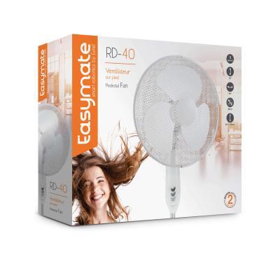 Carton packaging du ventilateur sur pied RD 40 Easymate Extel