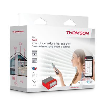 Vue de 3/4 du carton du module volet Thomson Access