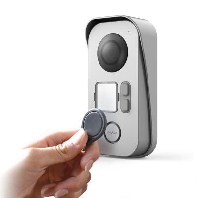 Ouverture avec badge pour l'interphone Bamboo view
