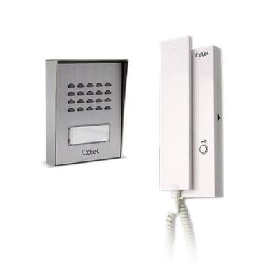 Portier audio 2+2 fils - WEPA 401 LC 3