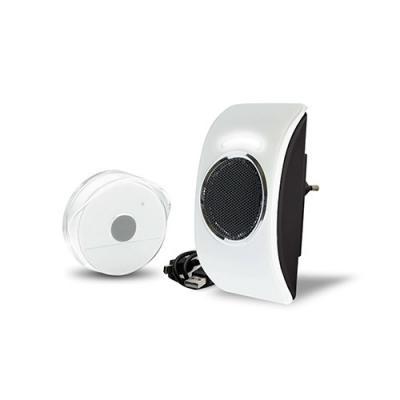 Sonnette sans fil enfichable MP3 LOOPO - 070715 - Extel