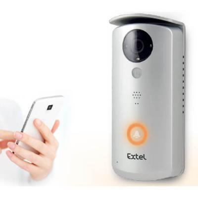 Visiophone connecté via la box internet à un smartphone