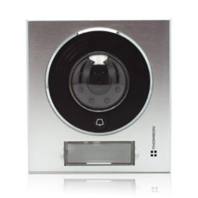 """Interphone vidéo mains libres Écran 4.3"""" platine de rue - 512160 - Thomson"""