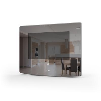 Vue de 3/4 de l'écran du visio Extel Glass