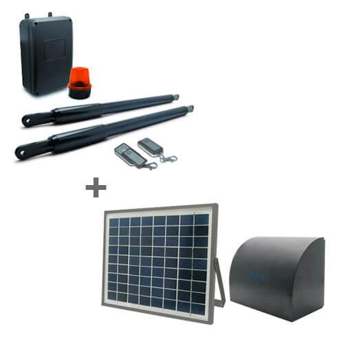 STYRKA 300 - Kit motorisation télescopique - Avidsen + Kit solaire