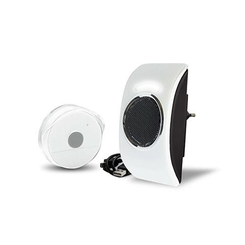 LOOPO Extel - Sonnette sans fil MP3 150m de portée