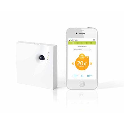 Thermostat connecté (chauffage électrique)