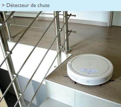 330004 Extel] Aspirateur robot Floor 400 autonome connecté