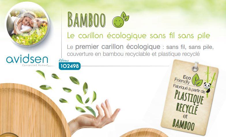 Sonette Bamboo technologie kinétic