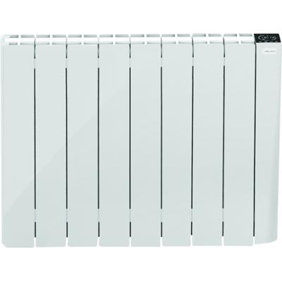 Radiateur fonte à inertie sèche avec détecteur d'ouverte de fenêtres GRANIT Heliom Maisonic