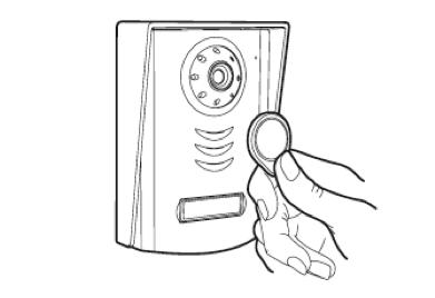Action 2 - Comment associer mes badges RFID pour mon visophone  YLVA+2 Avidsen?