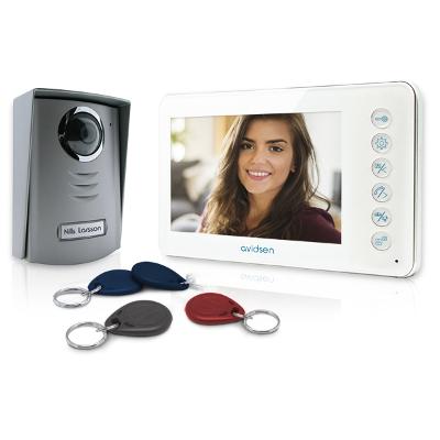 Visiophone couleur lecteur RFID intégré + badges YLVA 2+ Avidsen