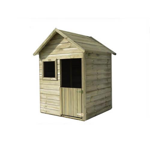 Maisonnette en bois 1m² avec plancher- EMY