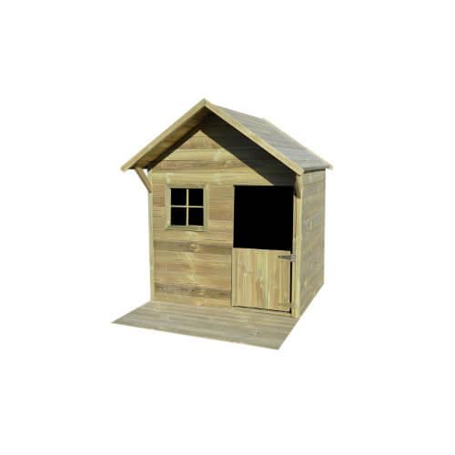 Maisonnette bois 1.35m² avec terrasse - JANE