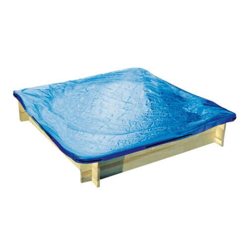 Bac à sable bois + tapis et bâche - LOEVA
