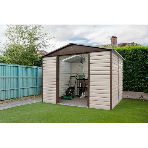 Abri de jardin métal TBSL - 5,97 m²
