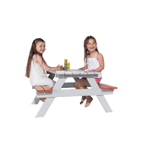 Table picnic bois enfant