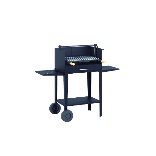 Barbecue artisanal sur chariot - BV-21